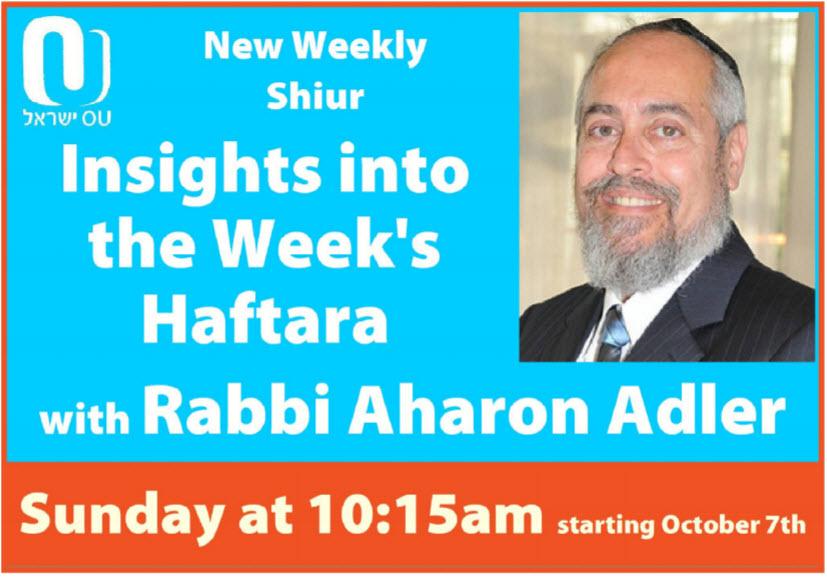 Insights into the Week's Haftarah