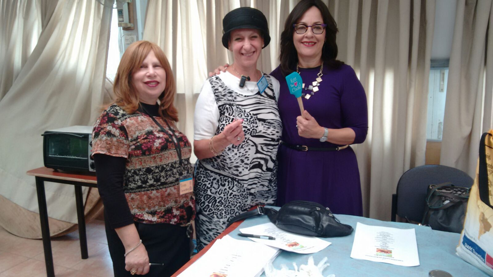 Shavuot Cooking Demo with Celebrity ChefBrynieGreisman and shiur with Sharona Halickman